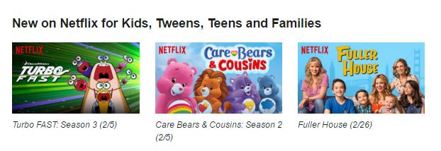 Netflix #StreamTeam - new for kids February 2016