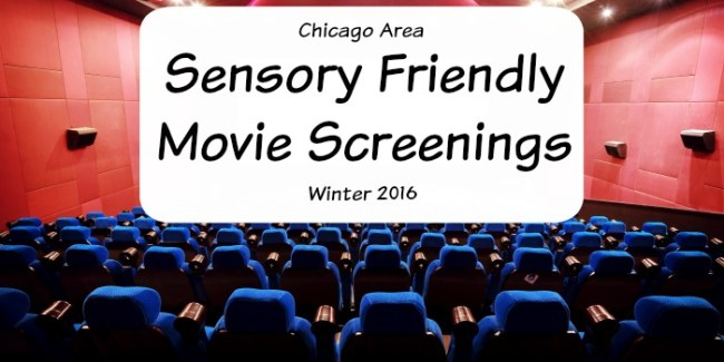 Sensory Friendly Movie Screenings - Winter 2016 #specialneeds #Chicago