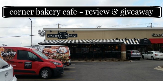 Corner Bakery Cafe - Review & Giveaway [ad]