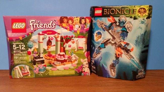 Lego Friends & Bionicles #StreamTeam