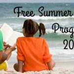 Free Summer Reading Programs 2016