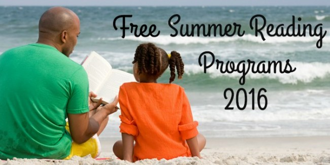Free Summer Reading Programs 2016 #free