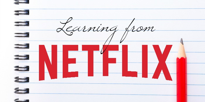 Learning from Netflix #StreamTeam [ad]