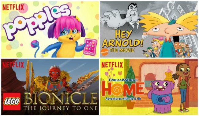 Netflix #StreamTeam collage July 2016