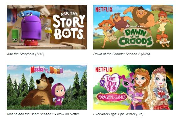 Netflix #StreamTeam August 2016 New shows [ad]