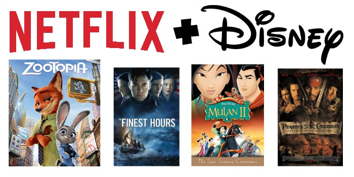 Netflix + Disney #StreamTeam [ad]