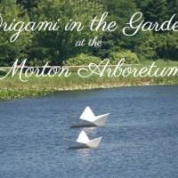 Origami in the Garden at the Morton Arboretum through October 22, 2017