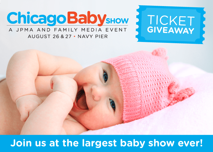 Chicago baby show ticket giveaway toddling around chicagoland the 2017 chicago baby show on august 26 27 at navy pier will be part of the largest show series for new and expectant parents in the country fandeluxe Images