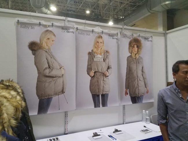 Maternity / Baby-wearing coat