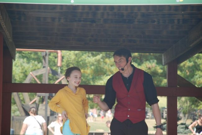 Magic show at All Seasons Apple Orchard