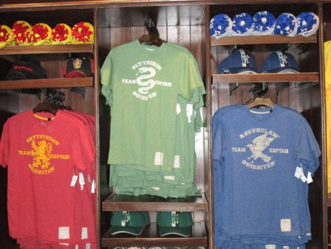 Harry Potter tshirts at the Wizarding World of Harry Potter
