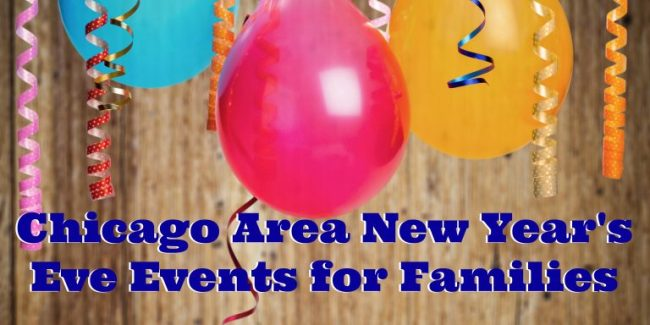 Balloons & streamers - New Year's Eve Events for Families in the Chicago Area 2017