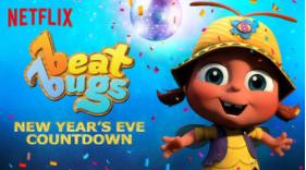Beat Bugs NYE Countdown on Netflix #StreamTeam