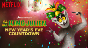 King Julien NYE Countdown on Netflix #StreamTeam