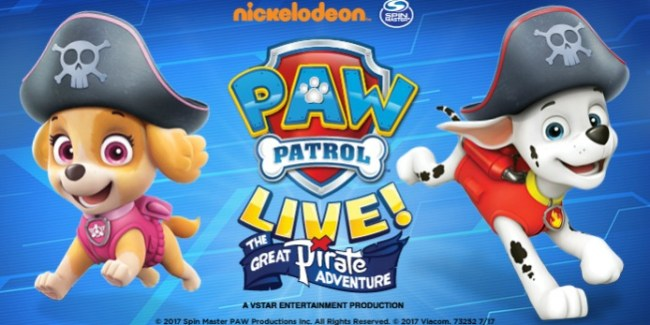 Paw Patrol Live pirate pets