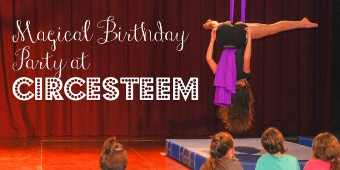 Magical Birthday Parties at CircEsteem