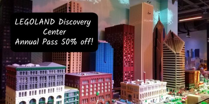 Legoland Discovery Center Annual Pass 50% off (limited time only)