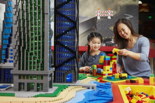 Building with LEGO blocks