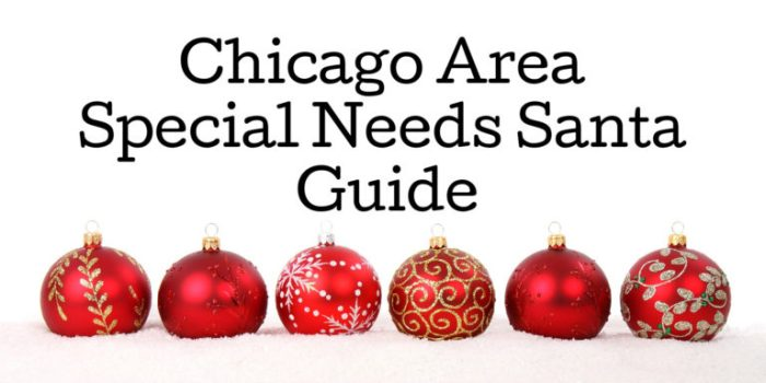 Chicago Area Special Needs Santa Guide