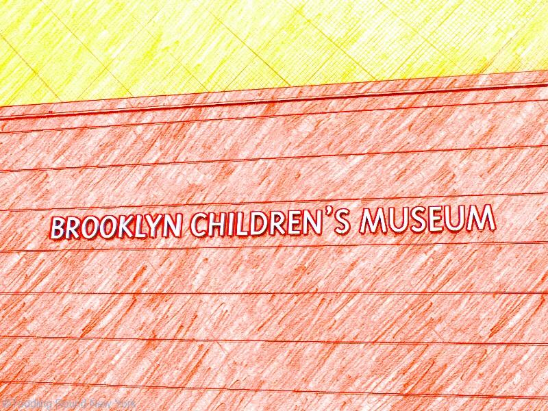 Brooklyn Children's Museum - easy to spot - New York