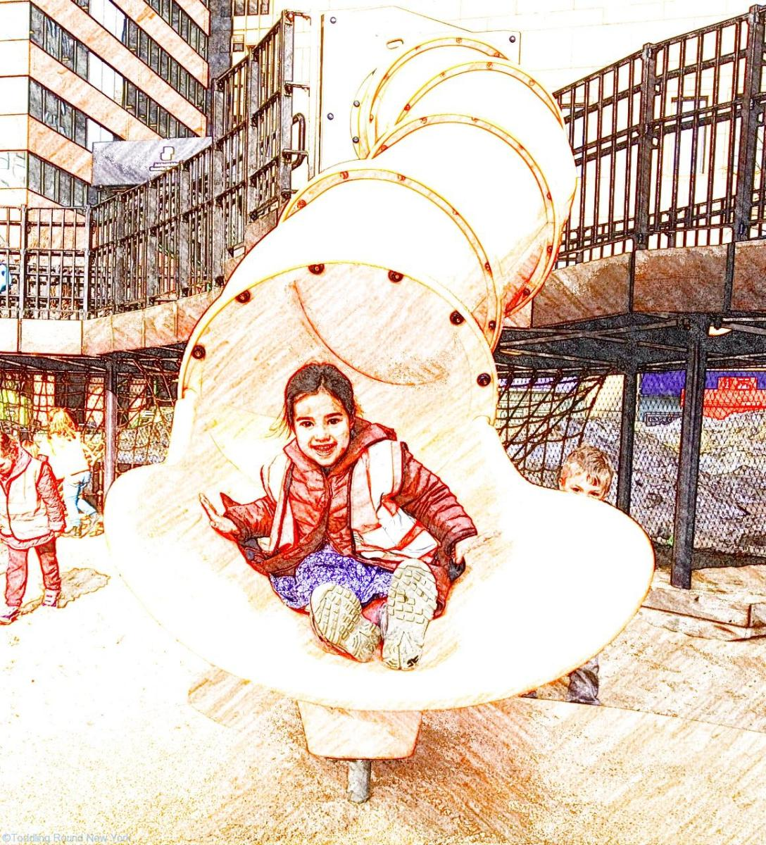 Our favourite playgrounds in Lower Manhattan