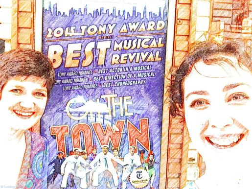 Girls night out to see 'On The Town' on Broadway