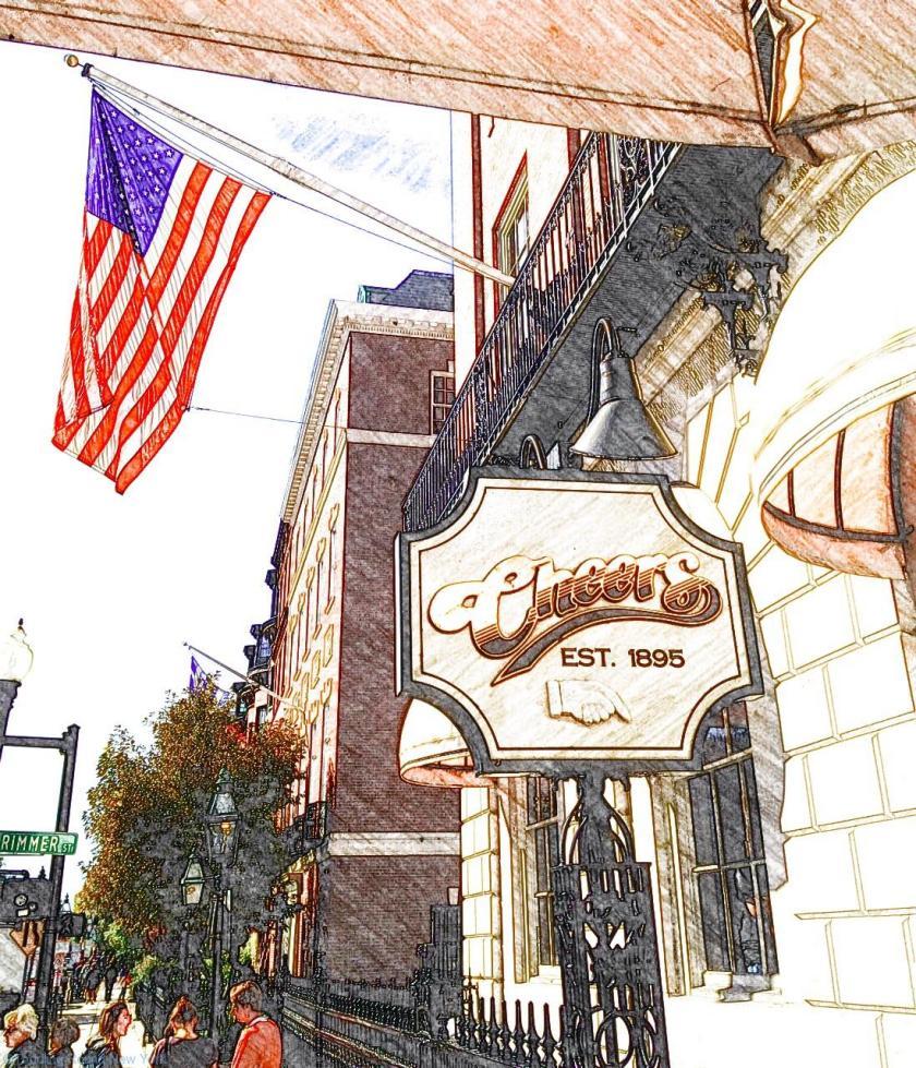 Cheers pub, Boston