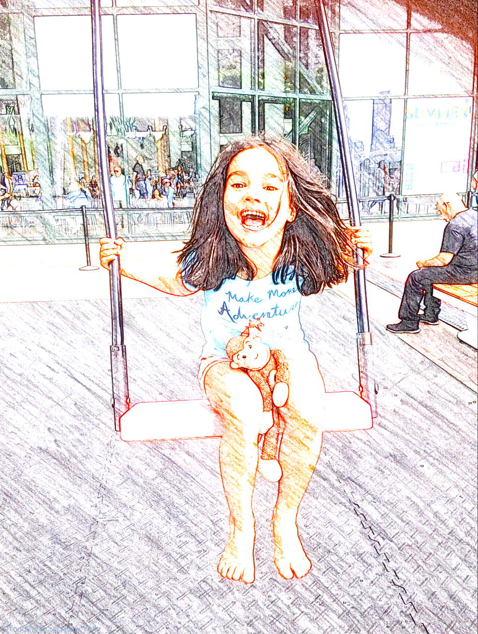 Musical swings in Battery Park City – last chance