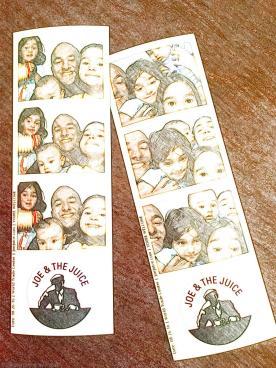 Joe & The Juice free photo booth