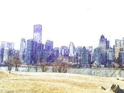Views of the Upper East Side across the East River - Roosevelt Island