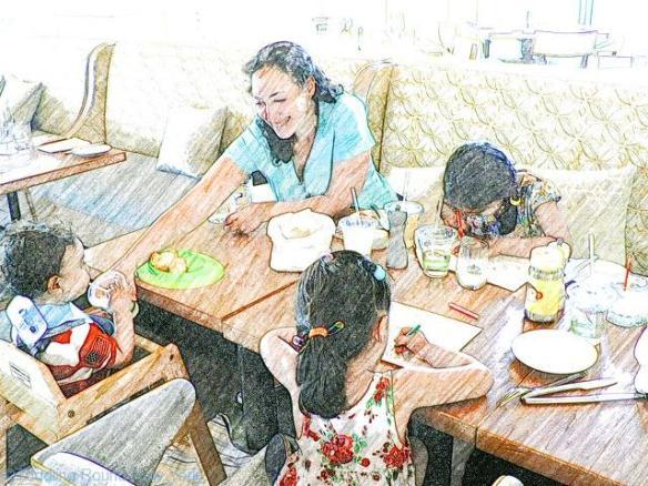 Cayman - Kimpton Seafire Hotel - Seven Mile Beach - Breakfast buffet at Ava