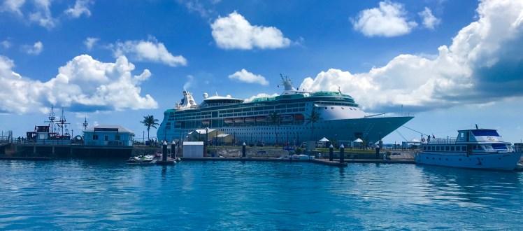 Royal Caribbean Grandeur of the Seas Bermuda Kings Wharf