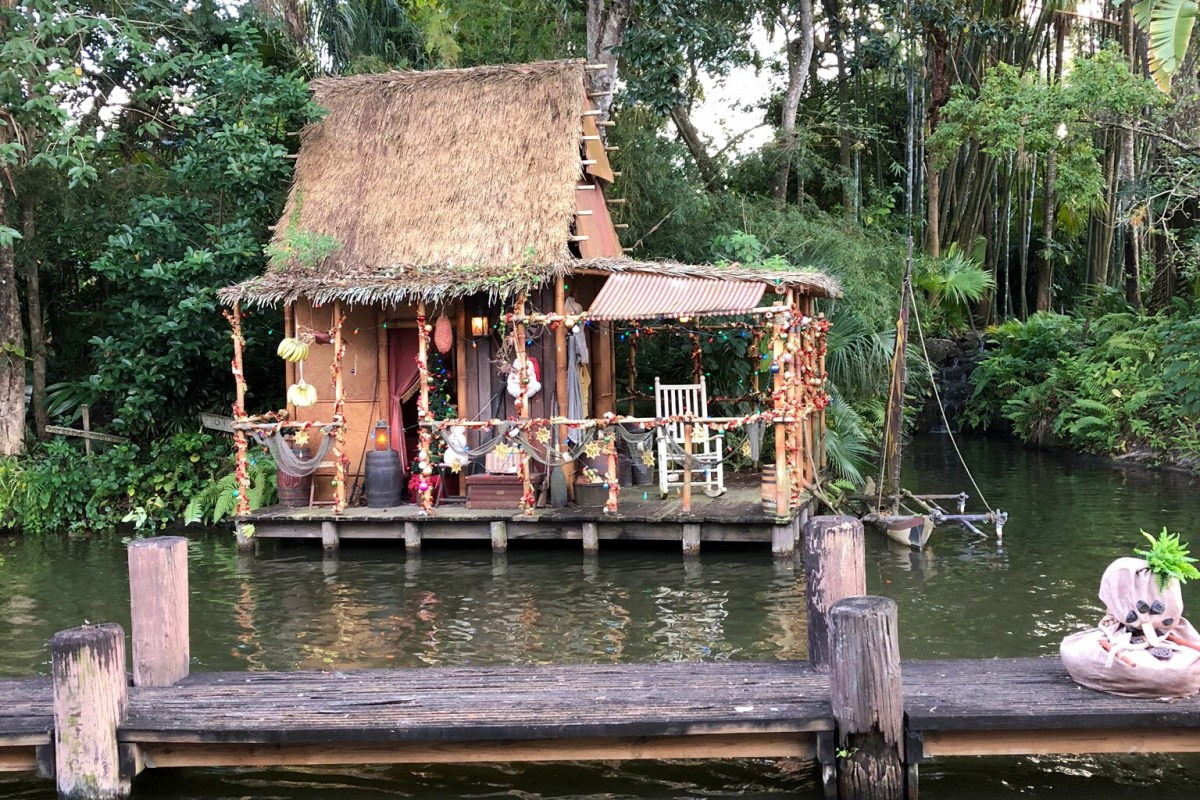 Disney Jungle Cruise Christmas