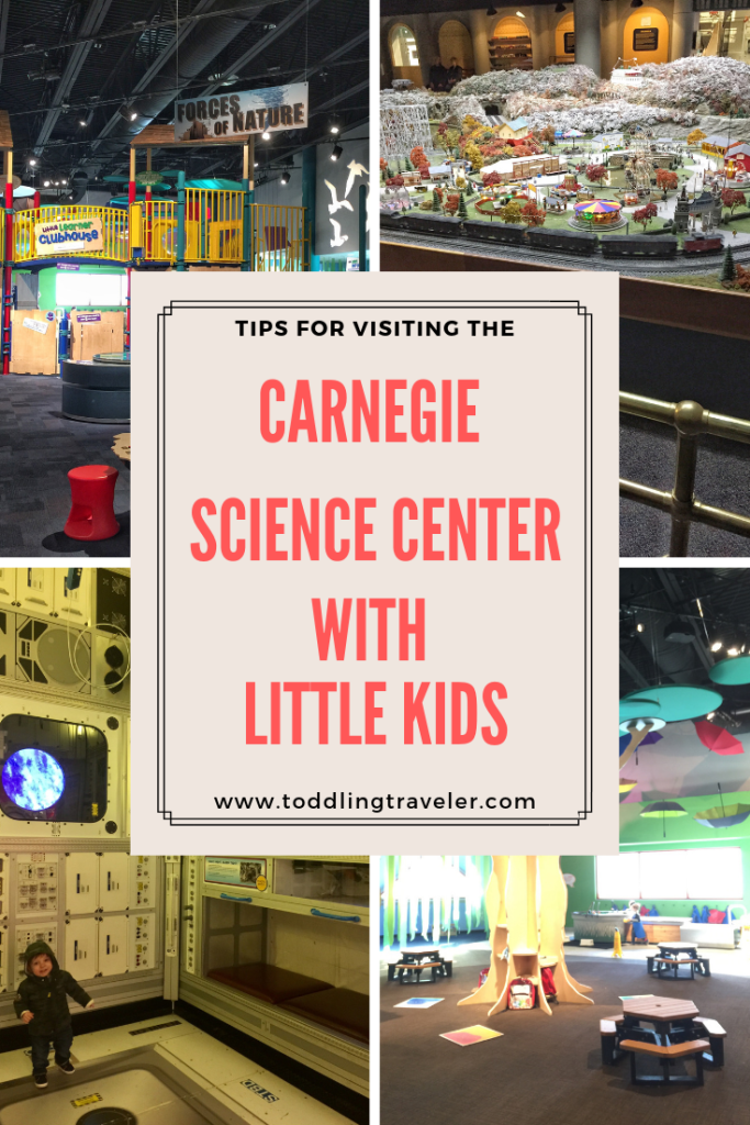 Carnegie Science Center with Little Kids: Pinterest Pin