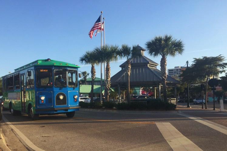 Siesta Key Village Trolley