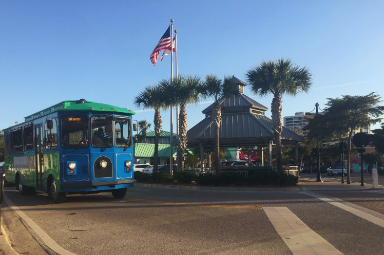Siesta Key Village Trolley