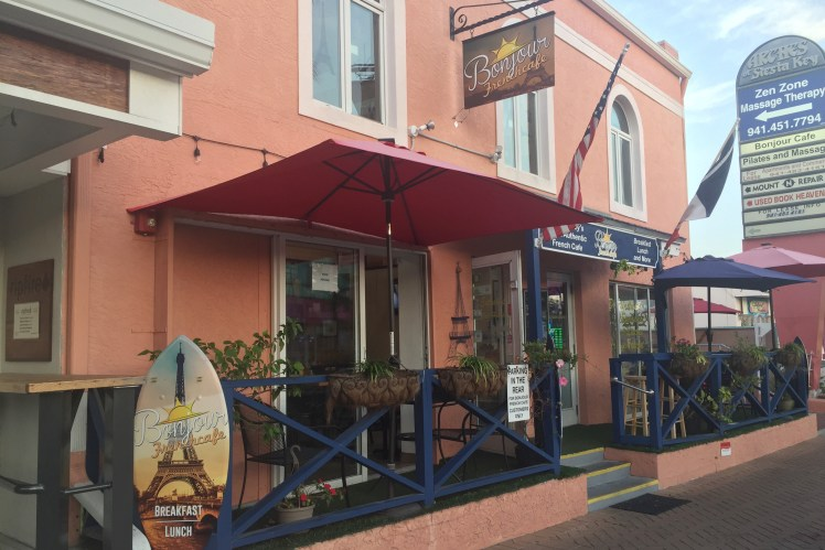 Bonjour French Cafe Siesta Key Breakfast Kid-Friendly Places to Eat in Siesta Key Toddling Traveler