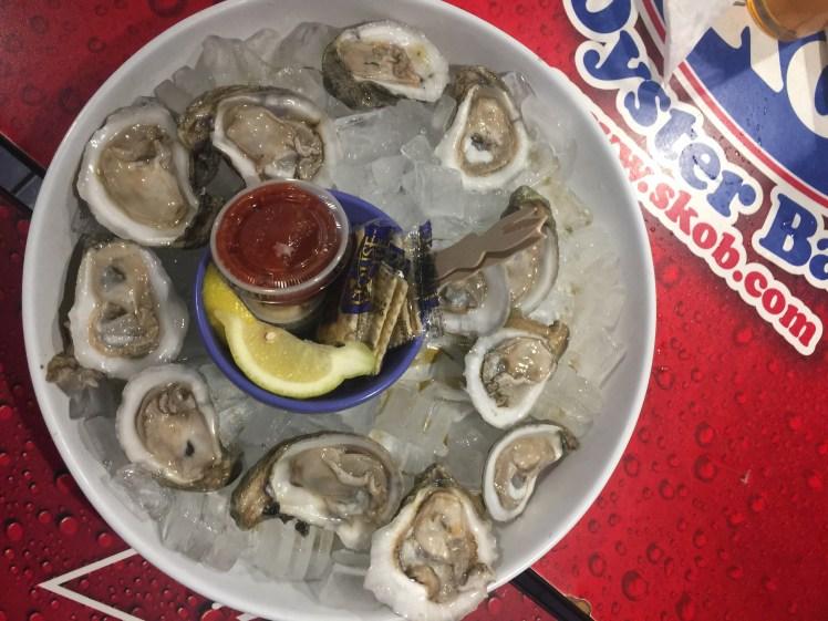 Siesta Key Oyster Bar Kid Friendly Happy Hour Oysters