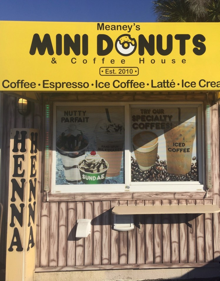 Meaney's Mini Donuts Siesta Key