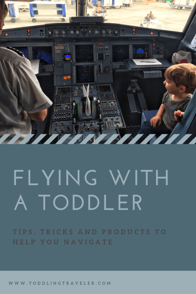 Flying with a toddler