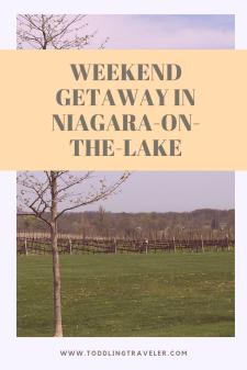 Weekend getaway in niagara-on- the-lake