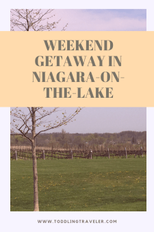 Weekend getaway in niagara-on- the-lake