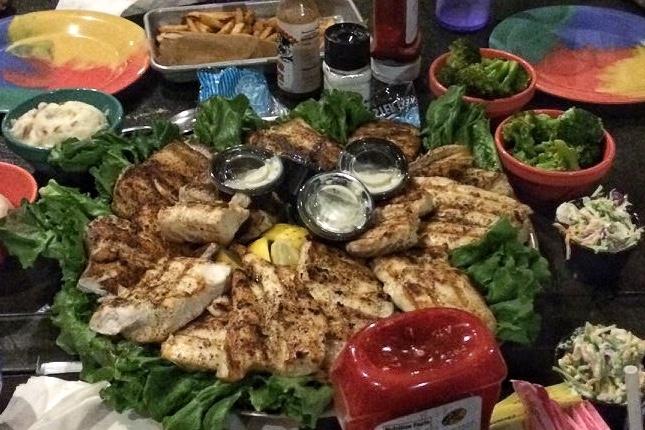 Islamorada Fishing Company bring your own fish restaurants Family Vacation in Islamorada Florida Keys with Kids Toddling Traveler