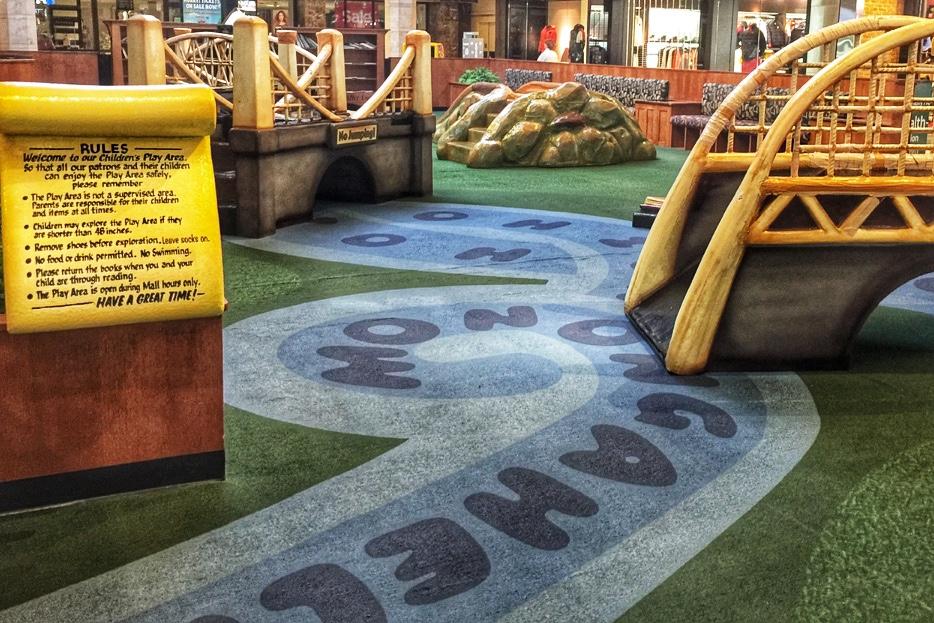 Ross Park Mall Indoor Playground Pittsburgh Toddling Traveler