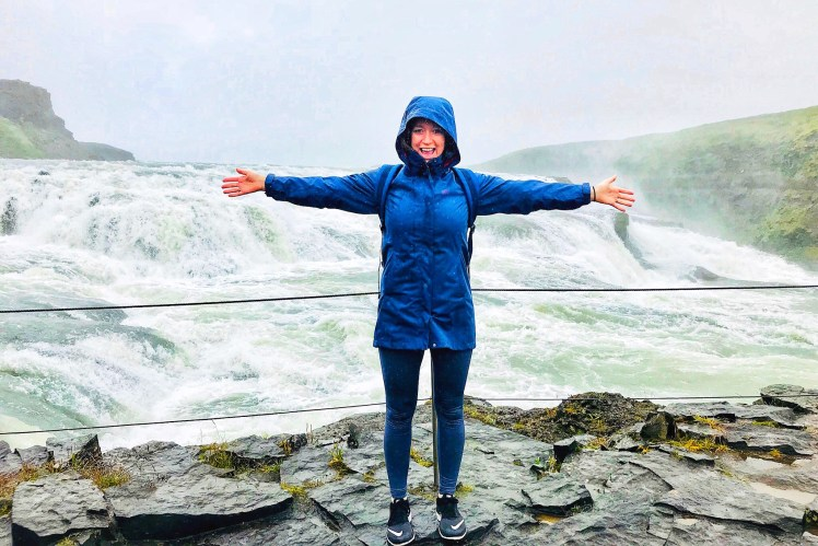 Iceland Golden Circle Gullfoss waterfall