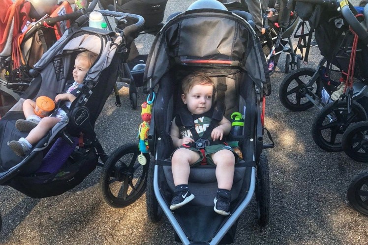 Fit4Mom North Hills Pittsburgh Stroller Exercise Class