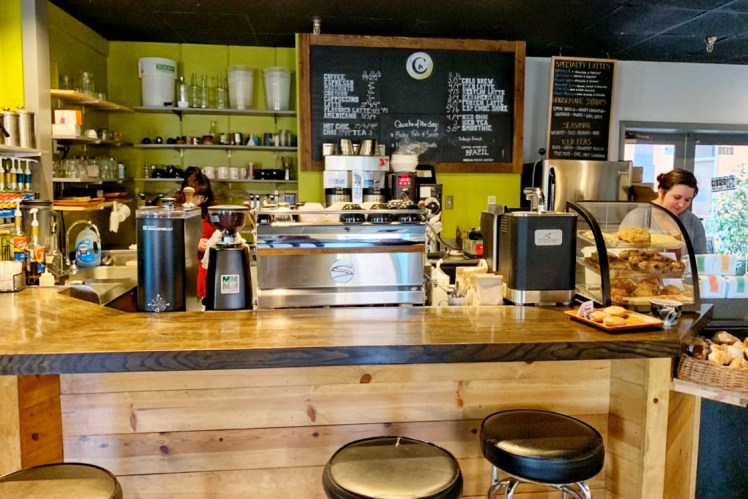 Commonplace coffee shop in Indiana PA Toddling Traveler
