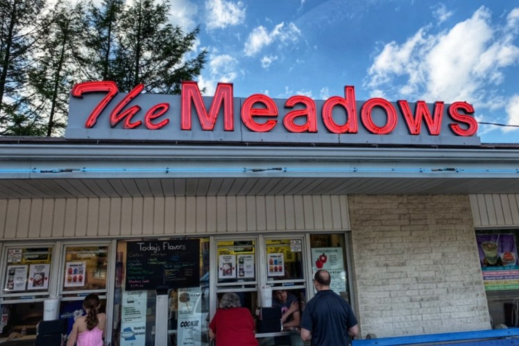 The Meadows Frozen Custard Indiana PA Ice Cream