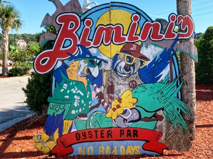 Bimini's Seafood Places to Eat North Myrtle Beach Family Vacation