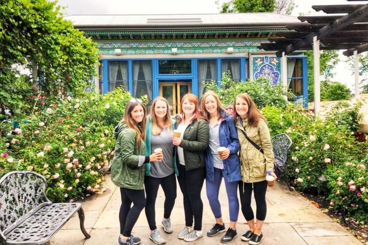 Boulder Tea House Girls Weekend in Boulder